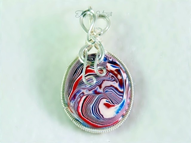 """Acid Freedom"" Pendant (Sterling Silver-filled Wire)"