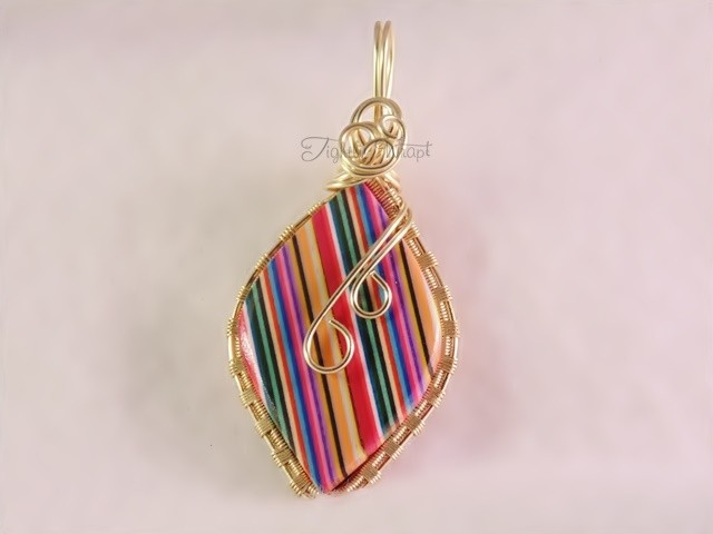 Multicolored Thomsite Pendant