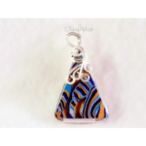 """""""Acid Valley"""" Pendant (Sterling Silver-filled Wire)"""