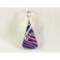 """""""Acid"""" Pendant (Sterling Silver-filled Wire)"""