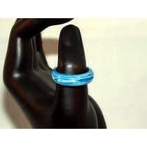 Blue Thomsite Ring (Size 8)